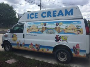 checy ice cream truck
